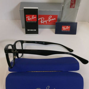 ecde94346a Ray-Ban Accessories - Ray Ban RB 5248 2000 Black Eyeglasses